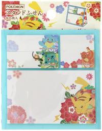 Pokemon Miyabi Series Stand Sticky Note - Hanatemari