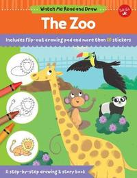 Watch Me Read and Draw: The Zoo by Samantha Chagollan image