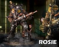 Bioshock: Big Daddy (Rosie Ver.) - 1:4 Scale Statue