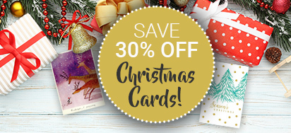 30% off Christmas Cards