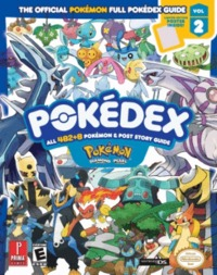 Pokemon Diamond & Pearl Pokedex Prima Official Game Guide image