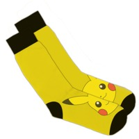 Pokemon Pikachu Knitted Socks