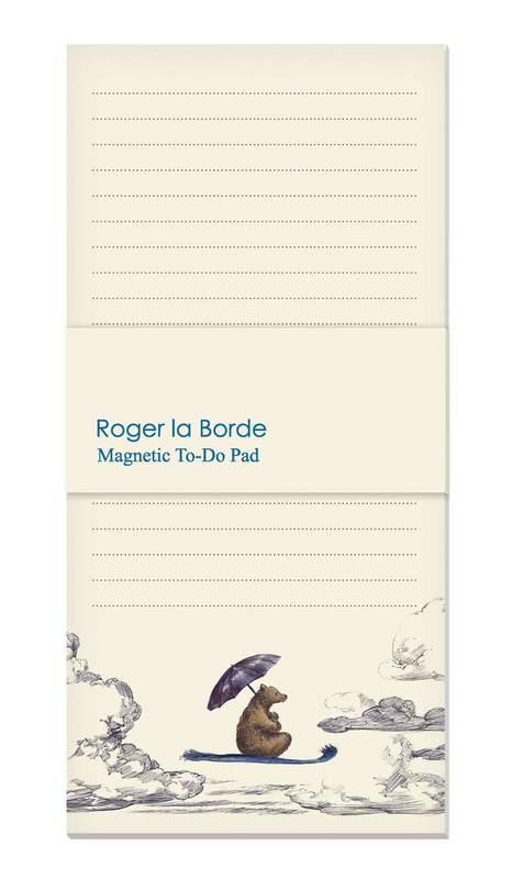 Roger La Borde: Magnetic Fridge Pad - Little Bear