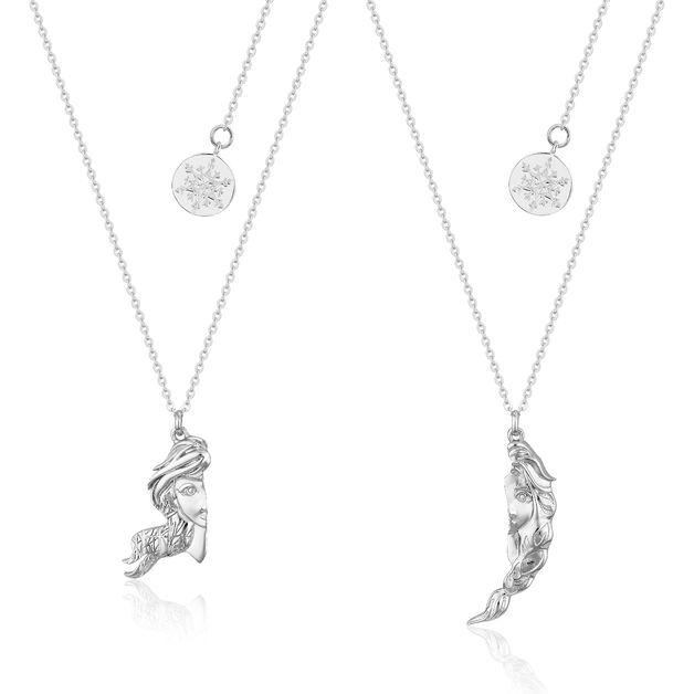 Couture Kingdom: Frozen II Elsa & Anna Break-Apart Necklace