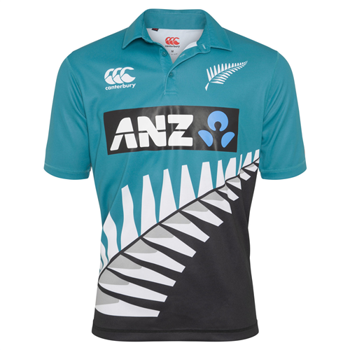 BLACKCAPS Replica Retro Kids Shirt (12YRS)