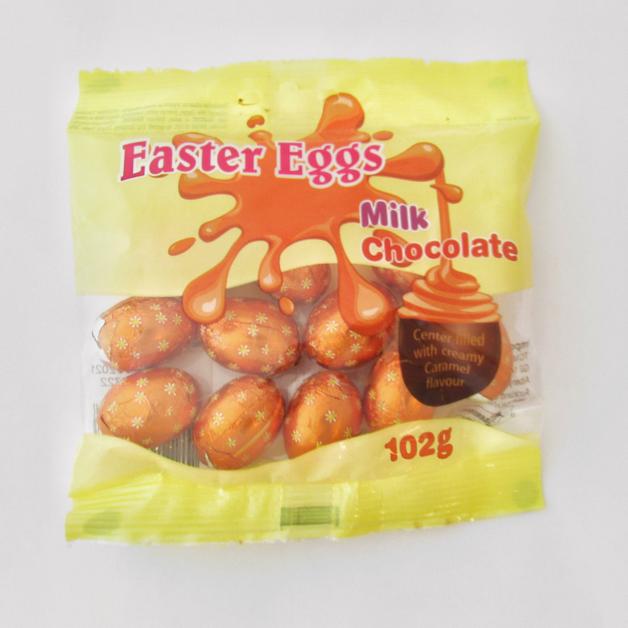 Easter Creme Eggs Caramel 102g