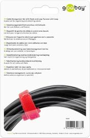 Goobay: Cable Management - 6 Piece Hook & Loop Set