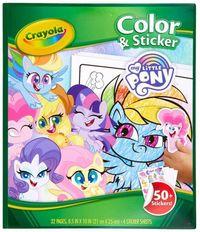 Crayola: Color & Sticker Book - My Little Pony