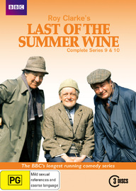Last of the Summer Wine (Roy Clarke's) - Complete Series 9 & 10 (3 Disc Set) on DVD