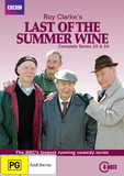 Last of the Summer Wine - Series 25 & 26 on DVD
