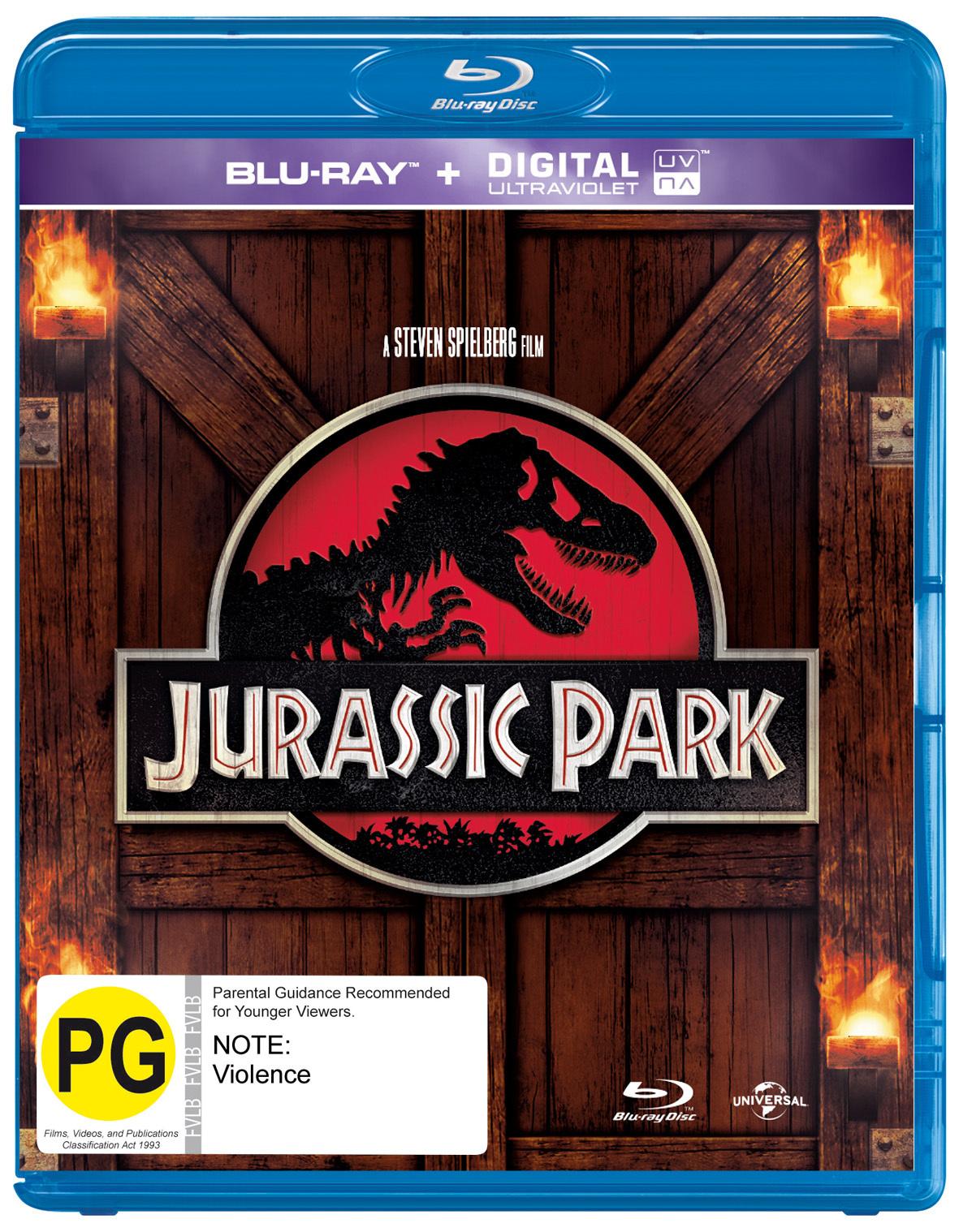 Jurassic Park on Blu-ray image