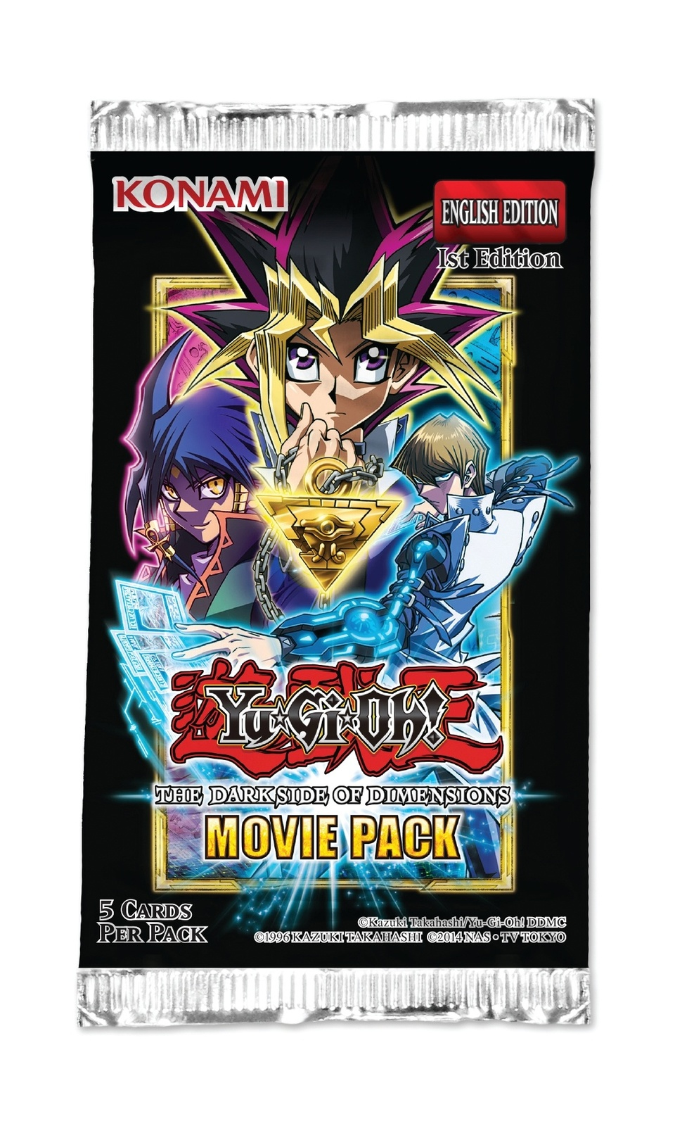 Yu-Gi-Oh! The Dark Side of Dimensions Movie Pack Single