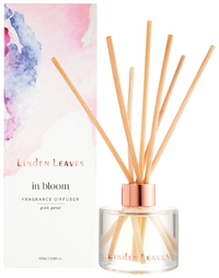 Linden Leaves Fragrance Diffuser - Pink Petal