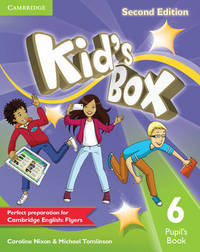 Kid's Box Level 6 Pupil's Book by Caroline Nixon image