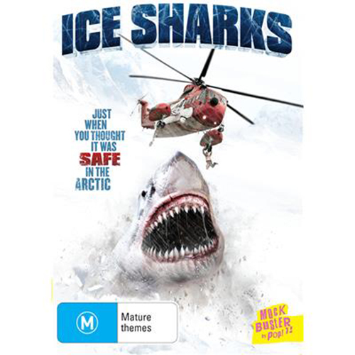 Ice Sharks on DVD image