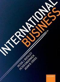 International Business by Peter J Buckley