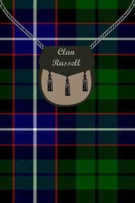 Clan Russell Tartan Journal/Notebook by Clan Russell