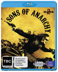 Sons of Anarchy - The Complete Second Season on Blu-ray