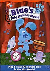 Blue's Clues - Big Musical Movie on DVD