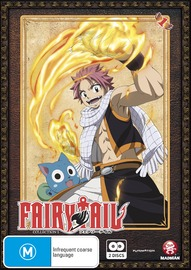 Fairy Tail - Collection 1 on DVD
