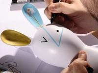 "Do it Yourself Raving Rabbids 11"" Vinyl Art Figure image"