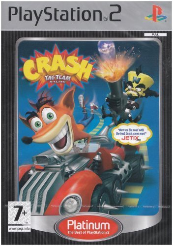 Crash Tag Team Racing (Platinum) for PlayStation 2