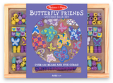 Melissa & Doug: Butterfly Friends Wooden Bead Set
