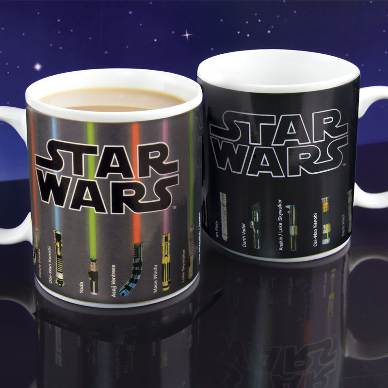 Star Wars Lightsaber Heat Change Mug image