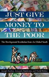 Just Give Money to the Poor by Joseph Hanlon image