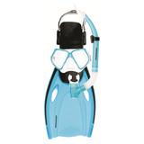 Mirage: F51 Nomad - Adult Mask, Snorkel & Fin Set - Large (Blue)