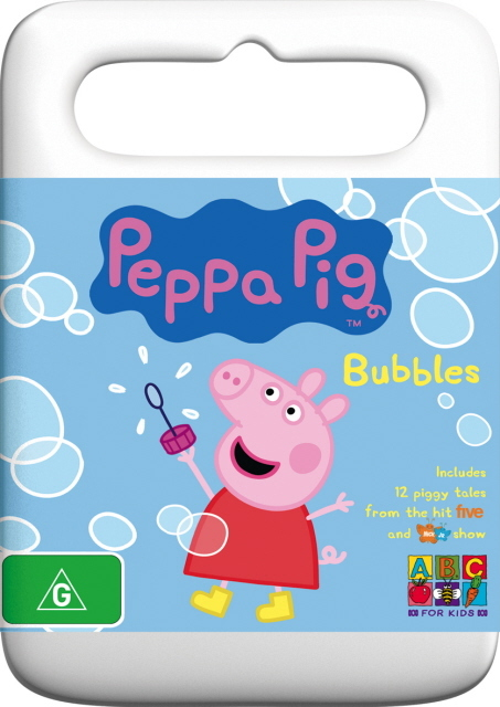 Peppa Pig - Bubbles on DVD