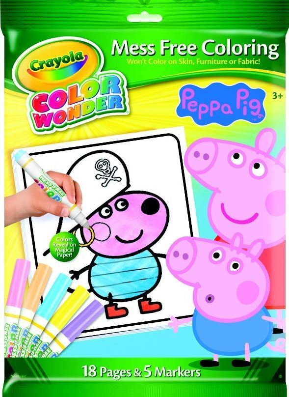 Crayola: Colour Wonder Markers & Paper Peppa Pig image