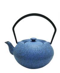 Teaology: Cast Iron Teapot - Stone Blue (450ml)