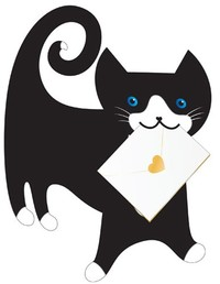 Cat Tommo Animal Greeting Card