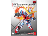SD Gundam EX Standard Try Burning Gundam -Model Kit