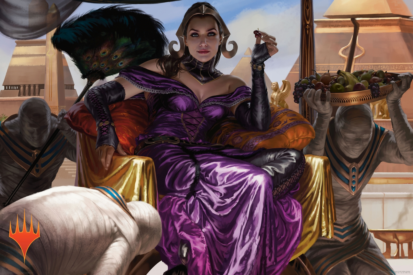 Magic The Gathering Lillianna Ltd Edition Poster (644) image