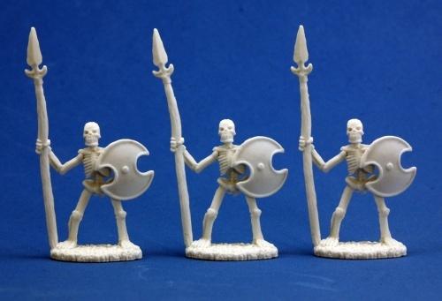 Dark Heaven Bones - Skeletal Spearmen (3-pc) image