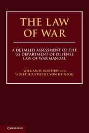 The Law of War by William H. Boothby