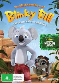 The Wild Adventures of Blinky Bill: The Escape And Other Wild Tales on DVD