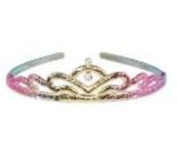 Pink Poppy: Metallic Rainbow - Crown Headband