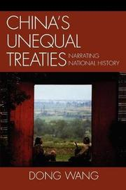 China's Unequal Treaties by Dong Wang