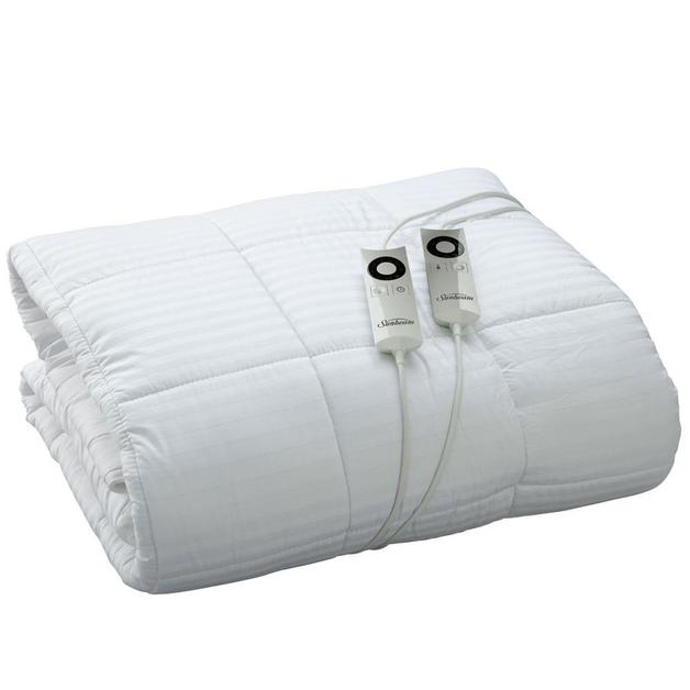 Sunbeam: Sleep Perfect Super King Bed Pillow Top Heated Blanket