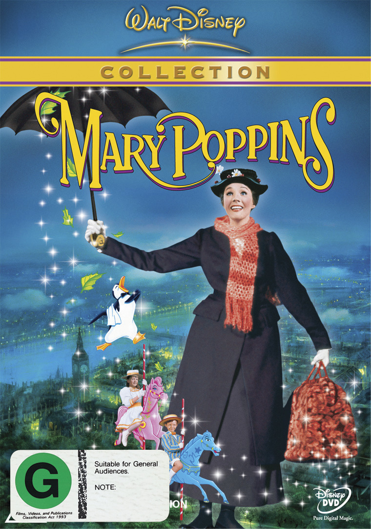 Mary Poppins 1964 Dvd In Stock Buy Now At Mighty