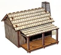 New France Settler's Cabin