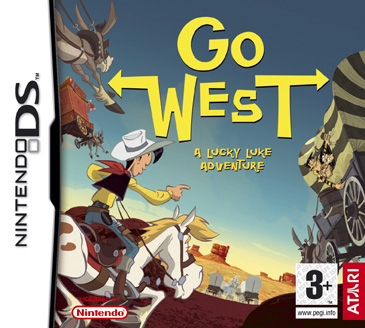 Lucky Luke: Go West!  for Nintendo DS image