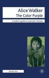 Alice Walker - The Color Purple by Rachel Lister image