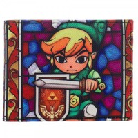 Legend of Zelda Link Window Wallet