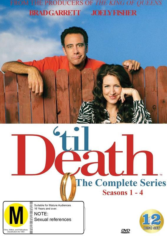 Til Death : The Complete Series (Seasons 1-4) on DVD
