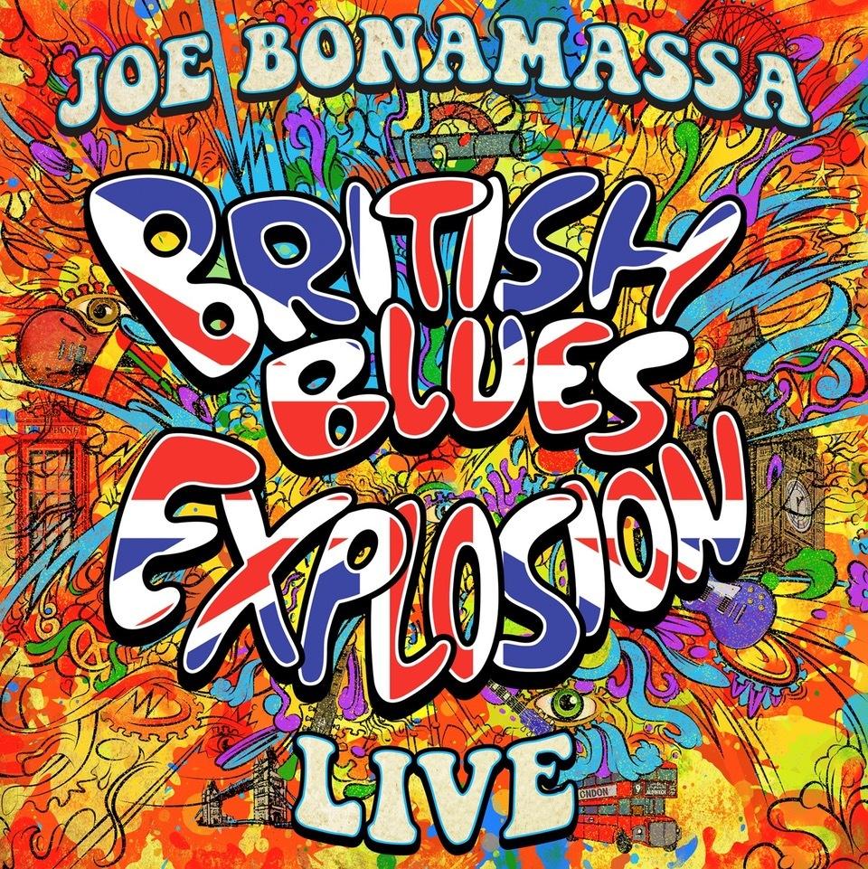 British Blues Explosion Live (DVD) by Joe Bonamassa image