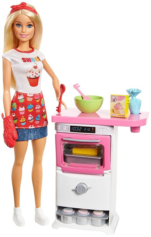 Barbie: Bakery Chef - Doll & Playset